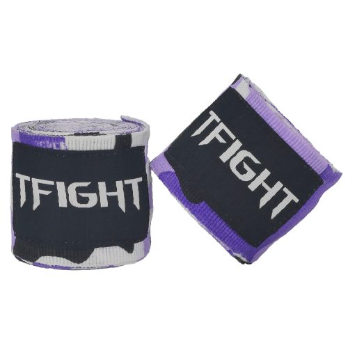 TFIGHT HANDWRAPS CAMO PURPLE 1