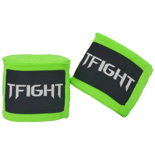 TFIGHT HANDWRAPS NEONE GREEN