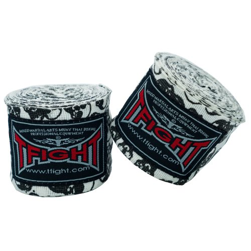 Tfight Hand Wraps Skulls 1