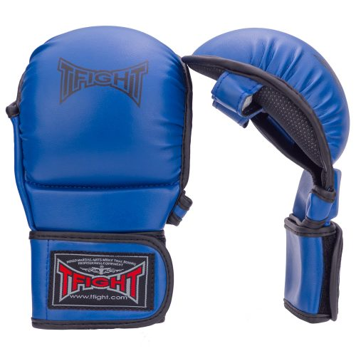 TFIGHT MMA TRAINING GLOVES BLUE 1