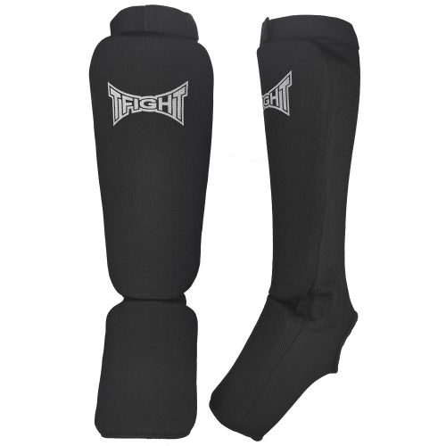 TFIGHT ELASTIC SHIN PADS BLACK