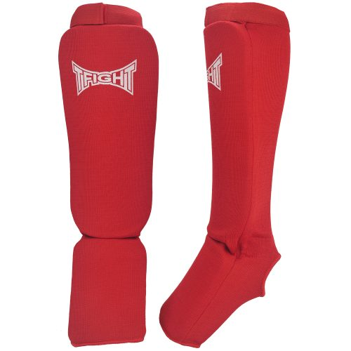 TFIGHT ELASTIC SHIN PADS RED