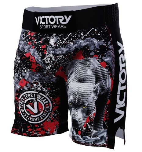 VICTORY PIT BULL MMA SHORTS 1